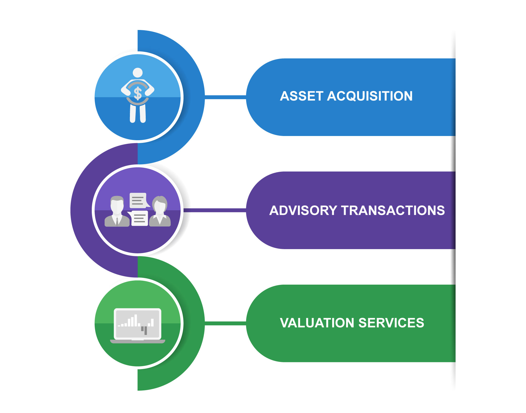 Asset Aquistion, Advisory Transactions, valuation Services